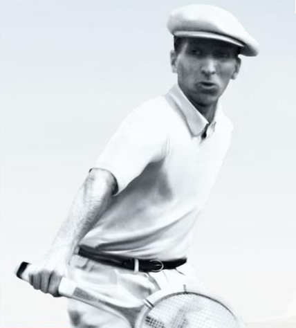 Lacoste in the polo shirt that looks most like what we know today modern style