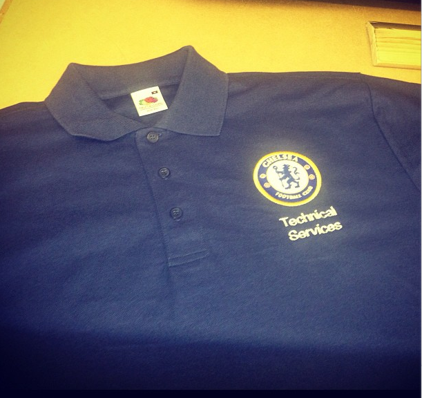 Case study chelsea fc clothes2order printing and for Order custom polo shirts