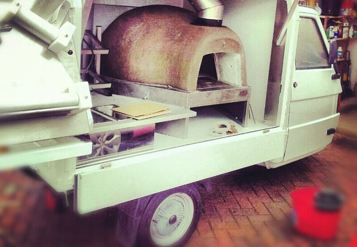 Pizza on the road mobile pizza