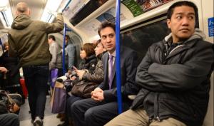 Ed Miliband tube