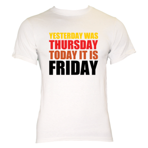 WHITEFRIDAY  61126 zoom 300x300 Thank T Shirts its Friday!