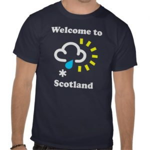 welcome to scotland funny weather t shirt r546b976b91d6493db888e7b4e8082c29 va6l9 512 300x300 St George and the T Shirt