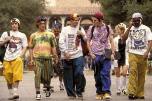 Backwards caps were ridiculed in 90s film 'Clueless'