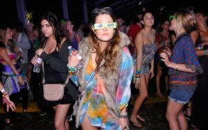vibrant fashion at Coachella in the US