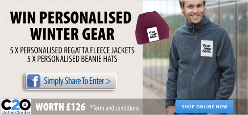 Winter comp Winter Competition! Win £126 of Personalised Winter Gear