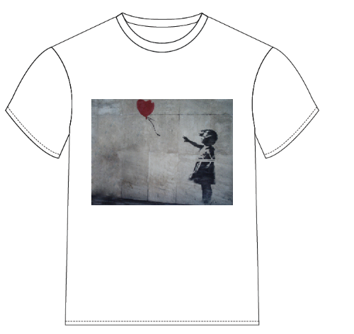 bansky1 Banksy on a T Shirt?