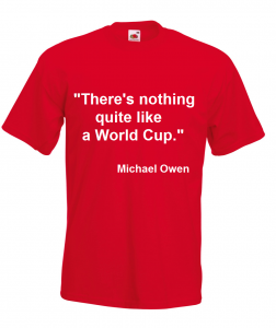 michaelowen 252x300 Competition: Fancy your slogan printed on a t shirt?