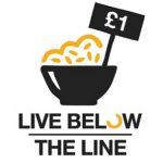 Live below the line logo