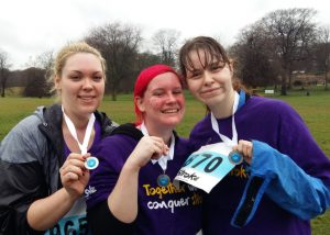 Rach & Charlotte 5k run