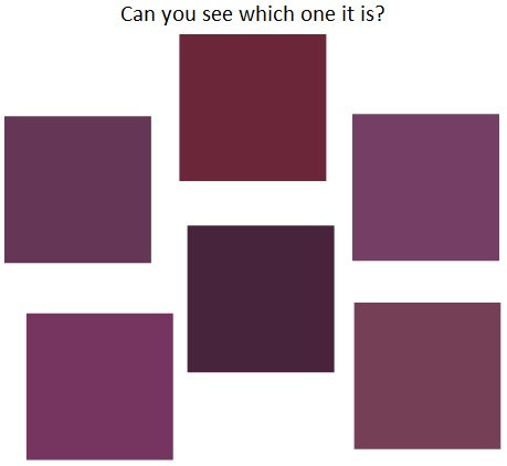 can you see which it is