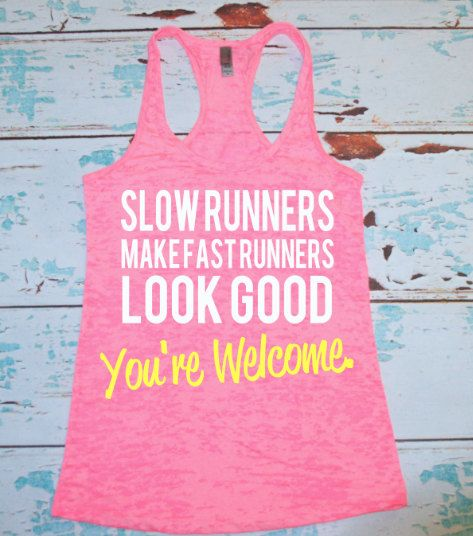 Slow runners make fast runners look good